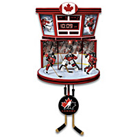 Team Canada Wall Clock