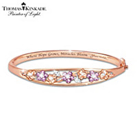 Thomas Kinkade Garden Of Hope Bracelet