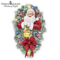 Thomas Kinkade A Most Enchanted Christmas Wreath