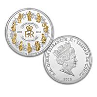 Queen Elizabeth II 65th Anniversary Coronation Coin