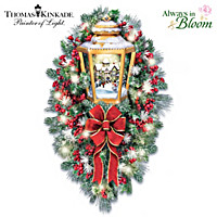Thomas Kinkade A Happy Homecoming Wreath
