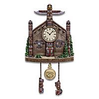 Legends Of The Haida Nation Cuckoo Clock