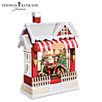 Thomas Kinkade The True Meaning Of Christmas Water Globe