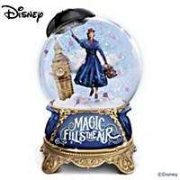 Disney Mary Poppins Returns Glitter Globe