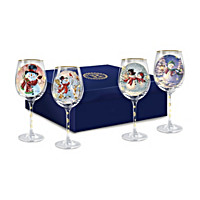 Holiday Cheer Wine Glass Set