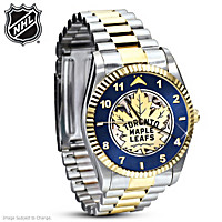 Toronto Maple Leafs® Men\'s Mechanical Watch