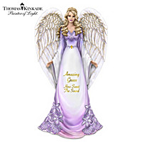 Thomas Kinkade Amazing Grace, How Sweet The Sound Figurine