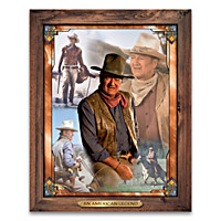 The Legend Of John Wayne Wall Decor