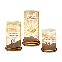 Lest We Forget Candle Set