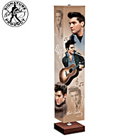 Elvis Presley Rock 'n Roll Legend Floor Lamp