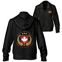 Canadian Veterans Women\'s Hoodie
