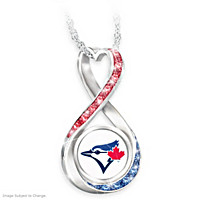 Toronto Blue Jays Forever Pendant Necklace
