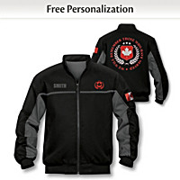 Canadian Heroes Personalized Men's Jacket