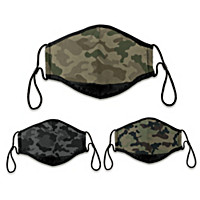 Camo Face Mask Set