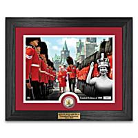 Queen Elizabeth II Canada Day Wall Decor