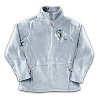 Spirit Of The Wilderness Women\'s Fleece Jacket