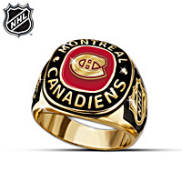 NHL® Montreal Canadiens® Ring