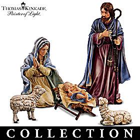 Thomas Kinkade Magnificent Holy Night Nativity Collection