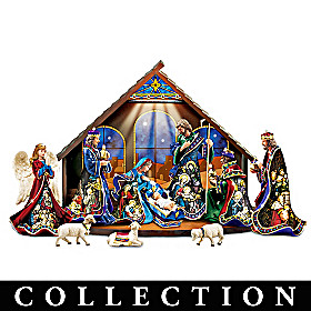 Miracle Of Light Nativity Collection