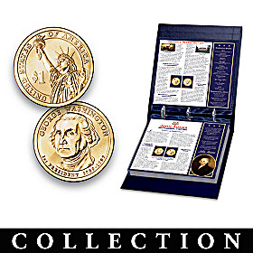 U.S. Presidential Dollar Coin Collection