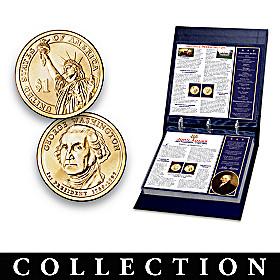 U.S. Presidential Dollar Coin Collection