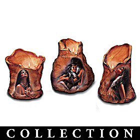 Spirit Of The Earth Candleholder Collection