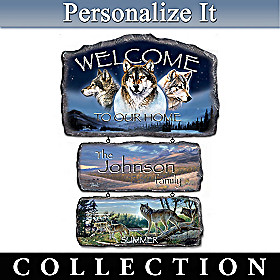 Sentinels Of The Seasons Welcome Sign Collection