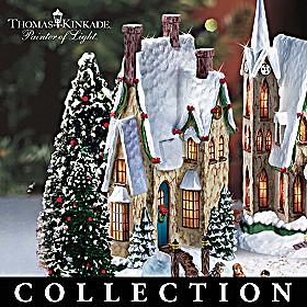 Thomas Kinkade Winter Splendour Christmas Village Collection