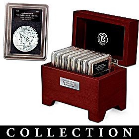 U.S. Peace Silver Dollar Coin Collection