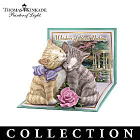 Thomas Kinkade Tails Of Romance Figurine Collection