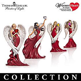 Thomas Kinkade Heartfelt Promises Figurine Collection
