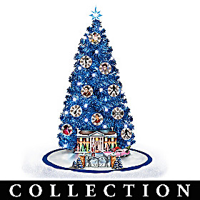 Happy Holidays From Graceland Christmas Tree Collection