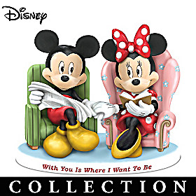 Disney Magical Moments Together With You Figurine Collection