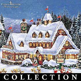 Thomas Kinkade North Pole Village Collection