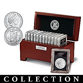 99.9% Silver Coins Of The World Coin Collection