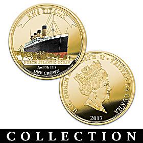 The Legendary Shipwrecks Golden Crown Coin Collection