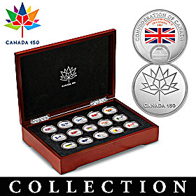 Confederation Of Canada Medallion Collection