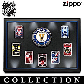 Original Six™: Legends Zippo® Lighter Collection