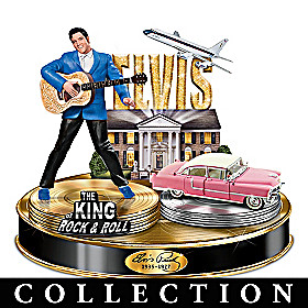 Life Of Elvis Presley Tribute Sculpture Collection
