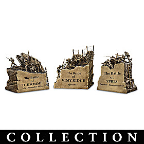 Famous Battles Of WWI Sculpture Collection