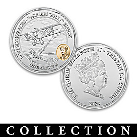 World War I Flying Aces Commemorative Coin Collection