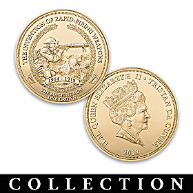 WWI Advancements In Warfare Proof Coin Collection