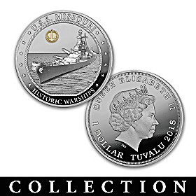 The Greatest Warships Proof Dollar Coin Collection