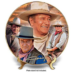 "John Wayne ""Frontier Horizon"" Collector Plate"