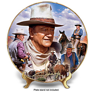 "John Wayne ""America's Cowboy ""Collector Plate"
