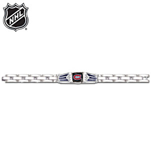 NHL® Montreal Canadiens® Bracelet With Black Onyx