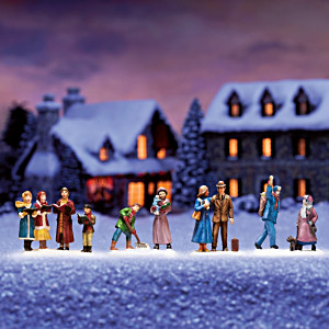 """Holiday Cheer"" Christmas Village Accessory"