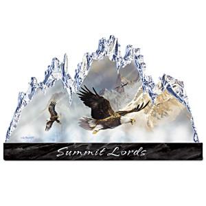 Ted Blaylock Illuminated Summit Lords Sculpture