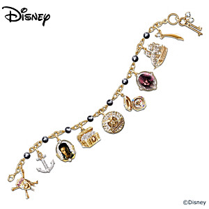 Pirates Of The Caribbean Black Pearl Charm Bracelet