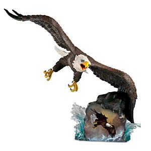 """Ted Baylock """"Coastal Hunter"""" Eagle Sculpture"""